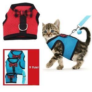 Cat Harness and Leash Set Small Cats Medium Large Kitten