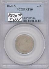 1875-S  Twenty Cent Piece PCGS XF 40
