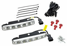 Tagfahrlicht 10 LEDs SMD E-Prüfzeichen E11 + R87 DRL 6000K