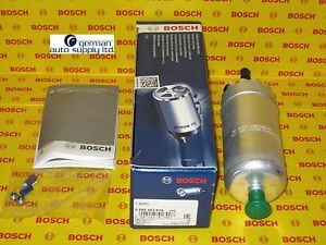 Audi - Volkswagen, Porsche Electric Fuel Pump - BOSCH - 0580463016, 69469 - NEW