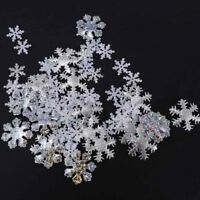 500pcs Christmas Snowflakes Table Confetti Tabletop Decorations Sprinkles