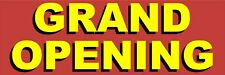 """Grand Opening Outdoor Banner (48""""x144"""") … long lasting"""