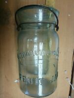 ANTIQUE COMMONWEALTH FRUIT JAR