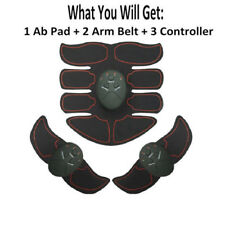 EMS Ultimate Abdominal Muscle ABS Stimulator Body Training Exerciser 8 Pad Toner