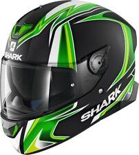 SHARK Helm Skwal 2 Sykes Replica grün matt Gr. L = 59/60 mit Sonnenblende NEU