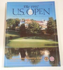 1997 US OPEN PROGRAM - ERNIE ELS AT CONGRESSIONAL