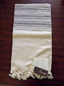 Turkish Cotton Towel Peshtemal Hand Loomed Beach Bath Pestemal X Large Towel
