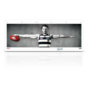 Patrick Dangerfield Signed Geelong Cats Mini Wings Official AFL Print ONLY NEW