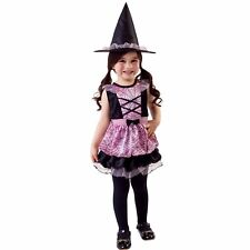 Pink Spider Web Witch Infant, Toddler Halloween Costume 4-6 Years #5152