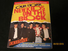 Vintage 1990 Our Story: New Kids on Block Soft cover Book-120 pages, Excellent f