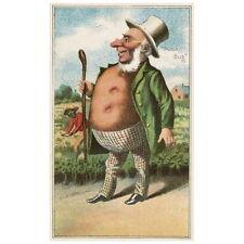 Bufford's Vegetable Cards No. 790-1 Deco FRIDGE MAGNET, 1887 Potato Bug