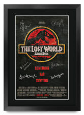 Jurassic Park Excellent Gift Idea Printed A3 Poster Signed Picture for Movie Fan