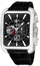 Louis Moinet Men's Twintech GMT Leather Strap Mechanical Date Watch LM.162.10.52