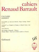 Cahiers Renaud Barrault n°98 : Voltaire, Diderot - Collectif - 2227713