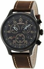 Timex Men's Expedition Leather Strap Watch  T49905