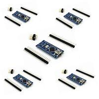 5PCS USB Nano V3.0 ATmega328P CH340G 16M 5V Micro controller Board For Arduino