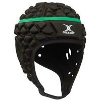 Gilbert Xact Rugby Union Headgear in Black - Elite/Club