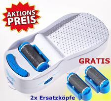 Hornhautentferner elektrisch Handfrei Pediküre Fußpflege Batteriebetrieb Fußfeil