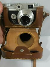 MID CENTURY ARGUS C-4 35M RANGE FINDER CAMERA WITH ORIGINAL LEATHER CASE