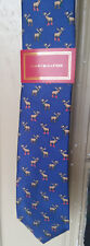 Tommy Hilfiger Reindeer Christmas Xmas Tie Necktie Mens NEW WITH TAG