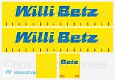 Code 3 Adhesive Vinyl Trailer Decal - Willi Betz livery - 1/50 1/76 1/148