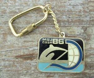 1986 World Rowing Junior Championships Czechoslovakia Sports Key Chain Keyring