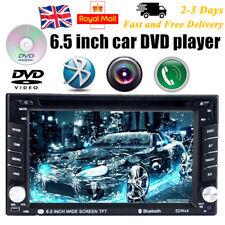 2DIN 6.5'' HD Car Stereo Bluetooth FM Radio DVD CD Player USB/SD/EQ Touch Screen