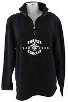 Bogner Fleece-Pullover M Damen in schwarz Schlupfjacke top Skipullover wie  neu 047cf57232c2d