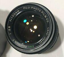 RARE EBC Fujinon-T 100mm F2.8 lens m42 Fuji Photo Film Co Made in Japan