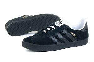 Adidas Originals Gazelle Women`s Ladies Girls Trainers Black EF5677 UK Quality