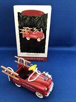 1995 Hallmark Ornament MURRAY FIRE TRUCK KIDDIE CAR CLASSICS #2 NIB