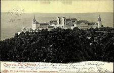 Furth bei Göttweig Niederösterreich AK ~1910 Stift Abtei Kloster Panorama Kirche