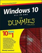 Windows 10 All-in-One For Dummies by Leonhard, Woody