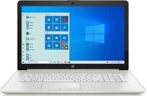 "HP 17 17.3"" FHD 10th Gen Quad i5 3.6GHz 1TB 12GB DVDRW Laptop Silver"