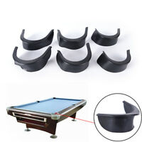6pcs/set billiard pool table valley pocket liners rubber billiard accessory QW