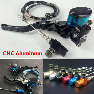 Motorcycle Hydraulic Clutch Lever Master Cylinder Knitting Oil Hose & Brake Pump