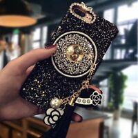 Luxury Bling Glitter Diamond Crystal PC Back Case Cover For iPhone Xs Max Xr X 8