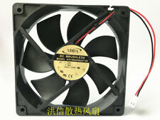 1PC ADDA 12025 AG12024XB257100 DC24V 0.46A 12CM 2-wire inverter cooling fan