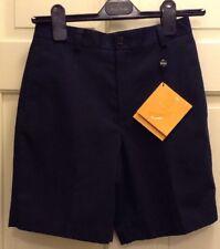 Brooks Brothers Boys Kids Shorts Flat Front  Navy Size 12 100% Cotton