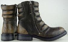 DIESEL Herren Boots Stiefeletten Kurzschaft Stiefel Schuhe Vintage Gr.40 NEU