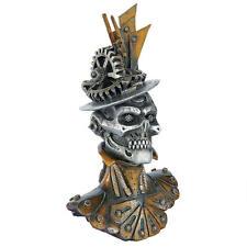 Steampunk Industrial Machine Statue Female Skelton Bust Sculpture NEW