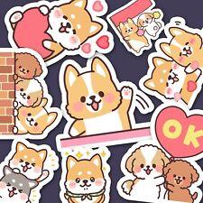 28 Kawaii Puppy Stickers, Corgie Stickers, Dog Stickers, Journaling Stickers USA