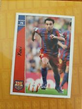 XAVI HERNÁNDEZ CARD F.C.BARCELONA 16 MUNDICROMO 2006 2007 ( no rookie Messi )