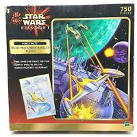 Hasbro Star Wars Episode 1 Bravo Squadron Assault Puzzle 750 Pieces