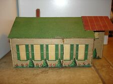 Lionelville Laundry with light O scale kit built