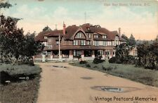 VICTORIA BC 1905-07 Long Gone Oak Bay Hotel , 1905-1962, VINTAGE CANADIAN HOTEL