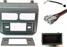 CHEVY/GMC GRAY Combo: Radio DASH KIT/Wire Harness/Antenna Adapter Install PB3