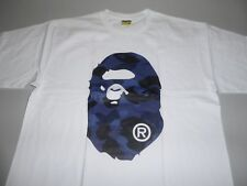 13659 bape color camo head white/blue tee XXXL