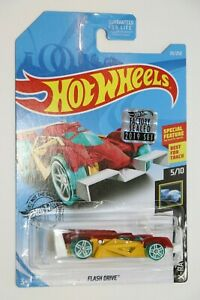 HOT WHEELS X-RAYCERS FLASH DRIVE FACTORY SEALED 2019 SET COLLECTIBLE 5/10