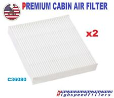 x2 C36080 CABIN AIR FILTER for HONDA Fit Insight CR-Z 2009-16 CF11182   800143P